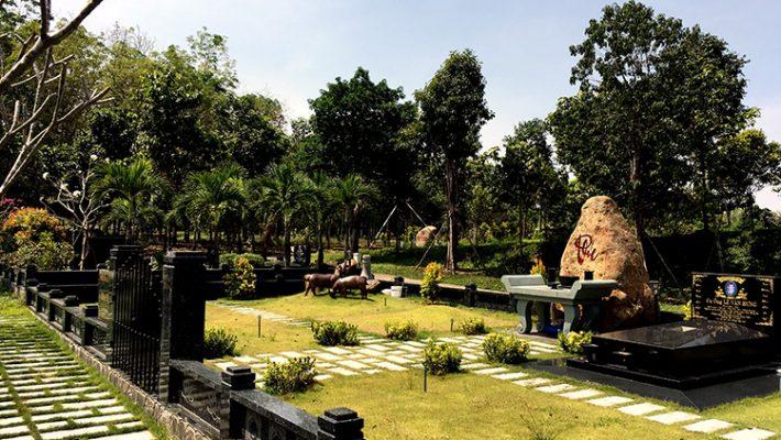 Đất nghĩa trang hiện đại nhất