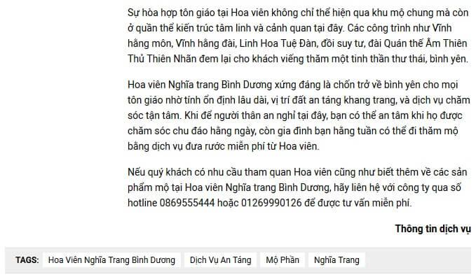 Nghĩa trang Bình Dương - Chốn trở về Bình Yên