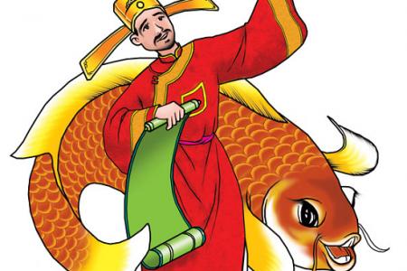 Tại sao ông táo lại cưỡi cá chép về trời