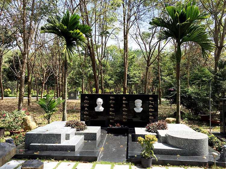 Mộ phần khu B Hoa viên nghĩa trang Bình Dương