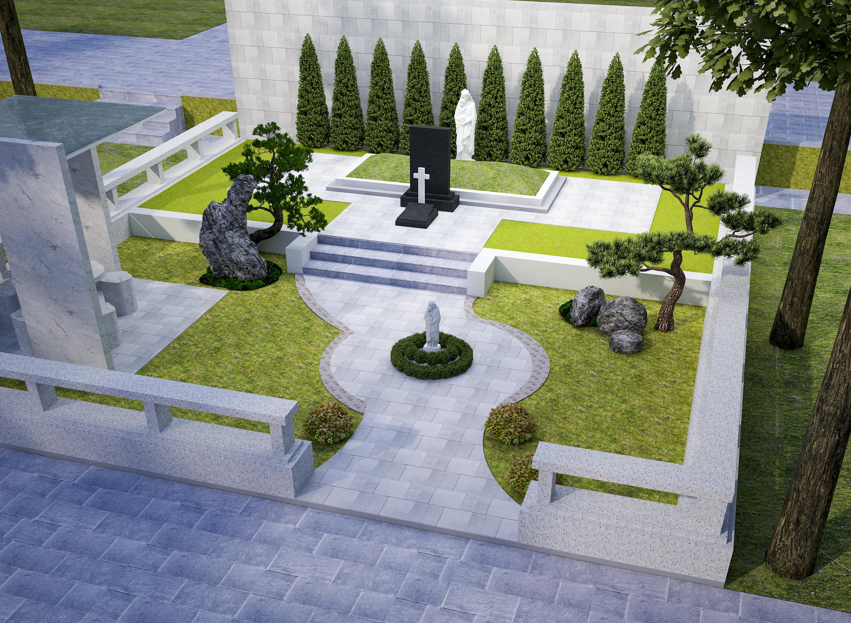 Mẫu thiết kế mộ khu mộ gia tộc