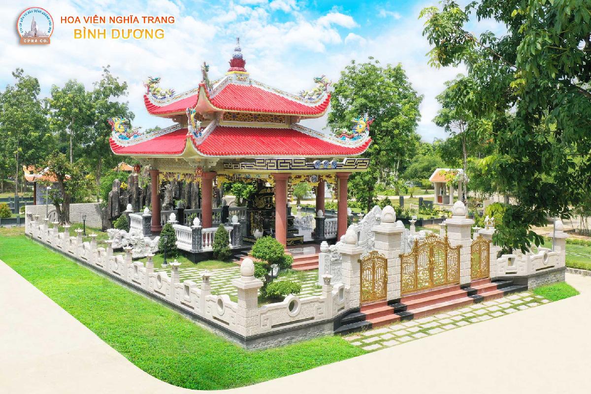 Giá đất nghĩa trang Bình Dương - Khu lăng mộ truyền thống