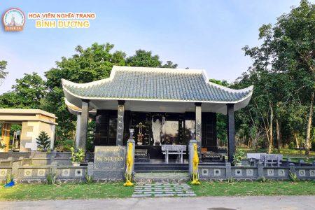 Giá đất nghĩa trang Bình Dương - Khu mộ công giáo