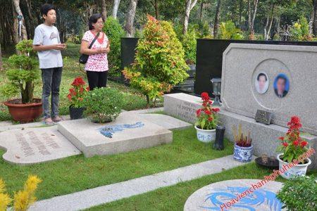 Tục tảo mộ - Hoa viên Chánh Phú Hòa
