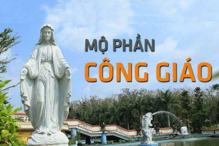 Mộ phần công giáo hoa viên nghĩa trang Bình Dương