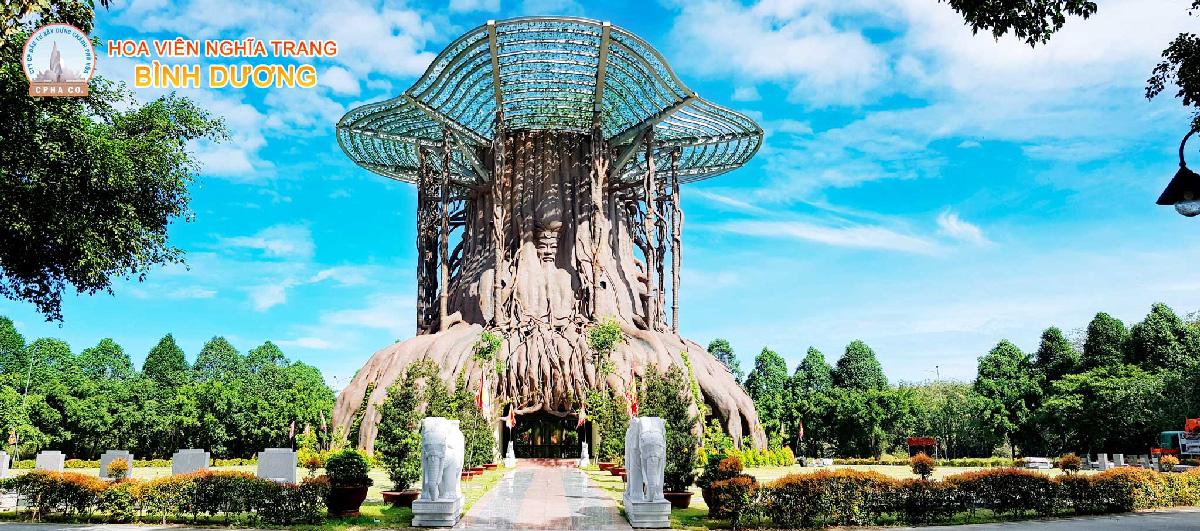 Cây đa hồn Việt Nghĩa Trang Bình Dương