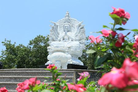Khu mộ phu thê hoa viên nghĩa trang Bình Dương