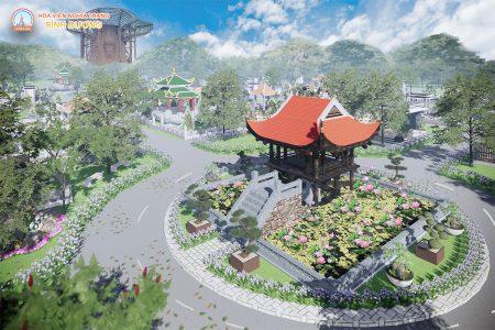 Khu mộ gia tộc Phúc Mãn Linh Trang